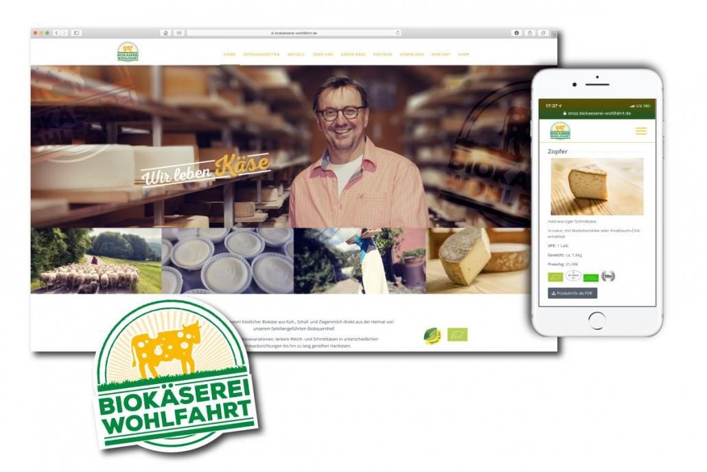 Webshop Webdesign Responsive Webseite Oberpfalz