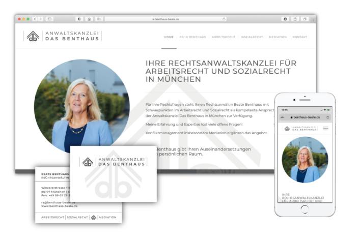 Werbeagentur Webdesign Fotografie Logodesign München