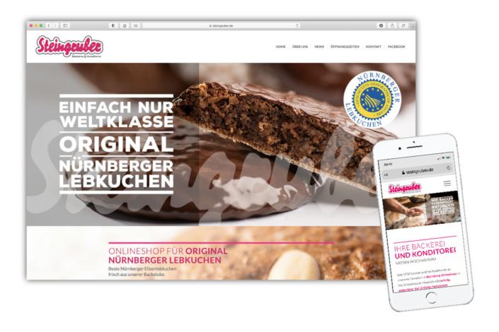 Webdesign Foodfotografie Nürnberg